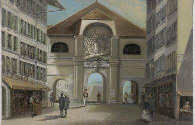 Genève, porte de Rive - © BGE, Centre d'iconographie genevoise